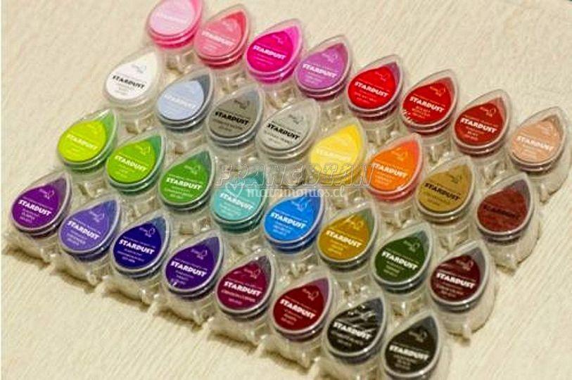 Huelleros diversidad colores
