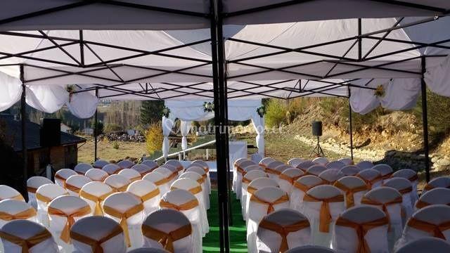 Para ceremonias matrimoniales