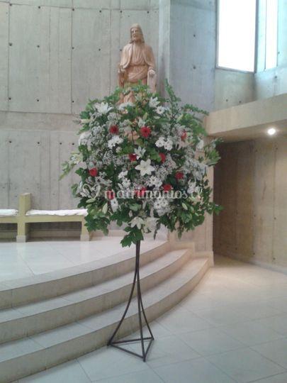 Atril costado Altar