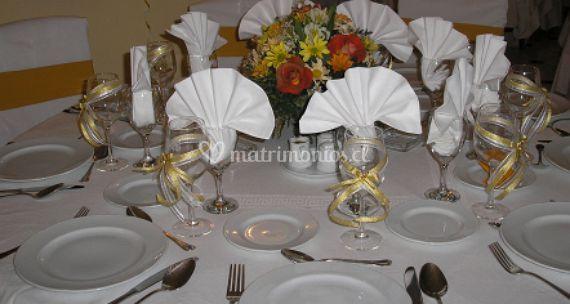 Organización de las mesas