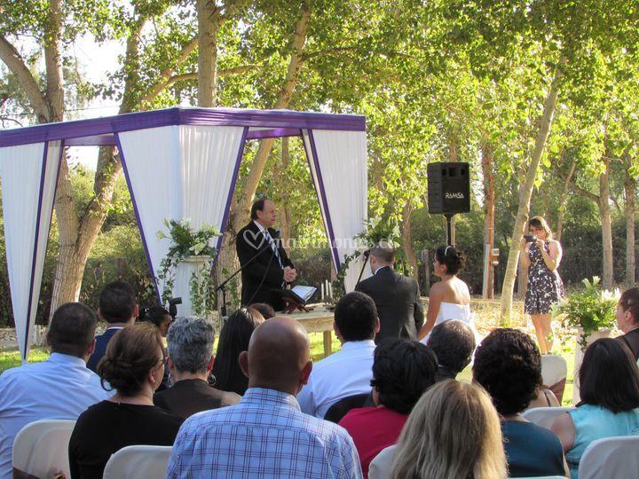 Ceremonias al aire libre