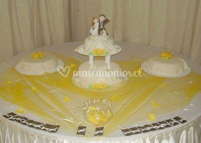 Torta de pasta blanca