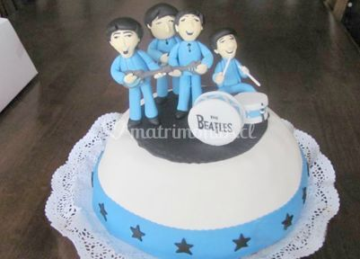 Torta de los beatles
