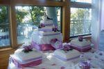 Torta rosas lila de Tortas Veloso