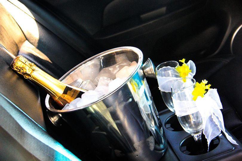 Champagne incluida