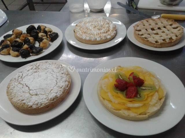 Pies, tartas y tartaletas