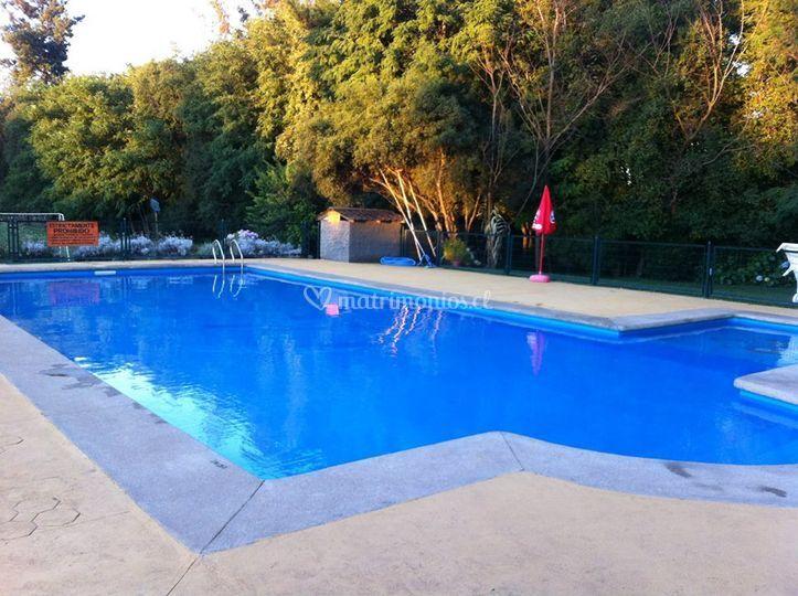 Evento en la piscina