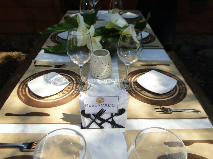 Mesa elegantes