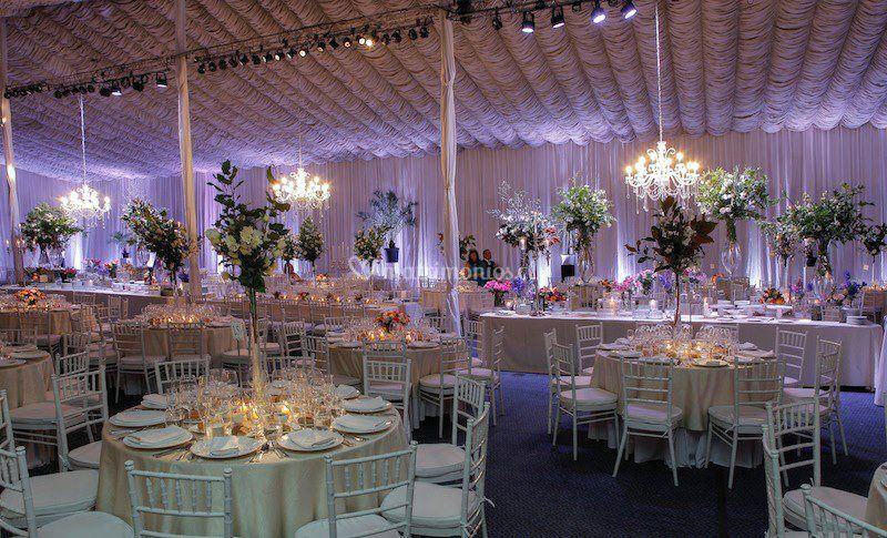 Decoración de matrimonio