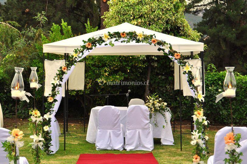 Matrimonio Catolico Al Aire Libre Chile : Matrimonio al aire libre de flores rancagua fotos