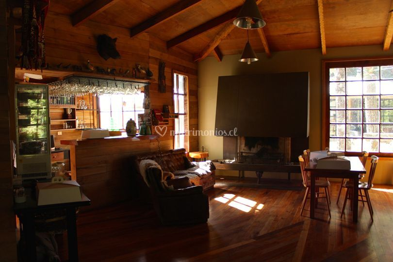 Interior salón pequeño
