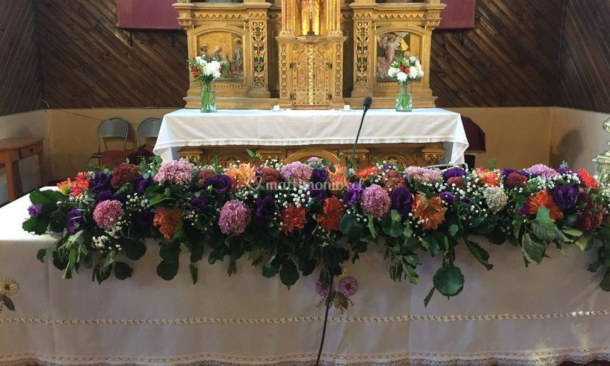 Arreglo altar