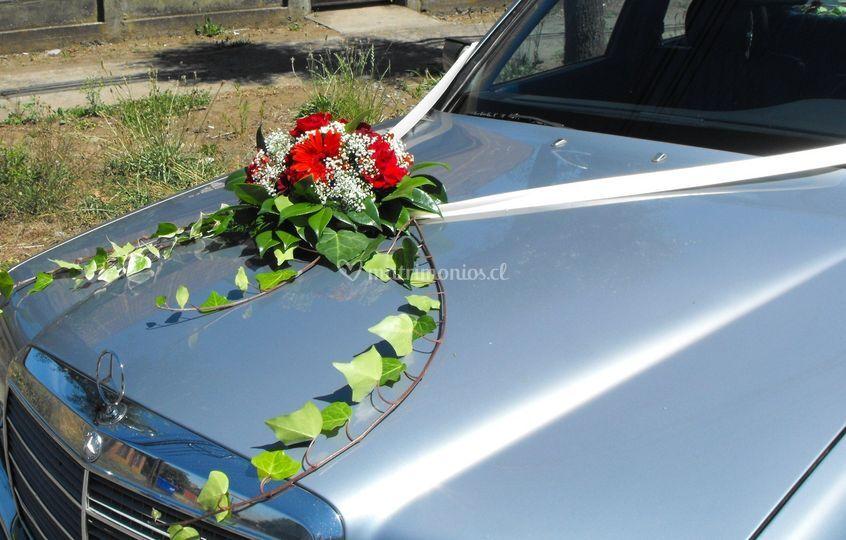 Arreglo de auto novia