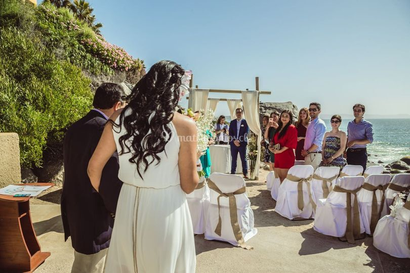 Celebración de matrimonio civi