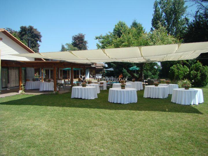 Área para banquete