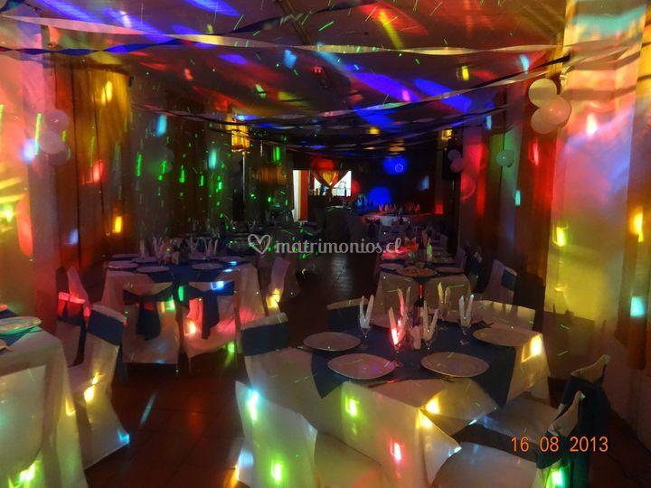Iluminación led y decoración