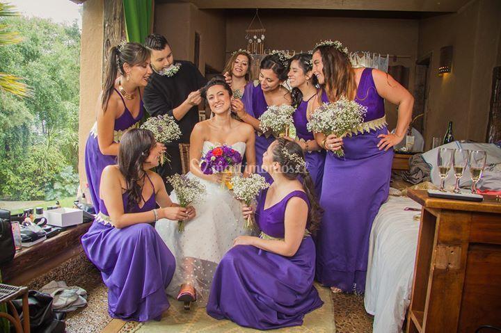 Ramo de novias y damas