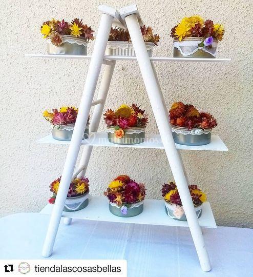 Escalerilla para buffet