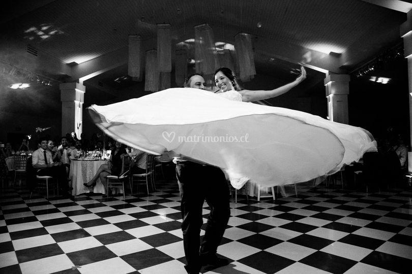 Baile recién casados