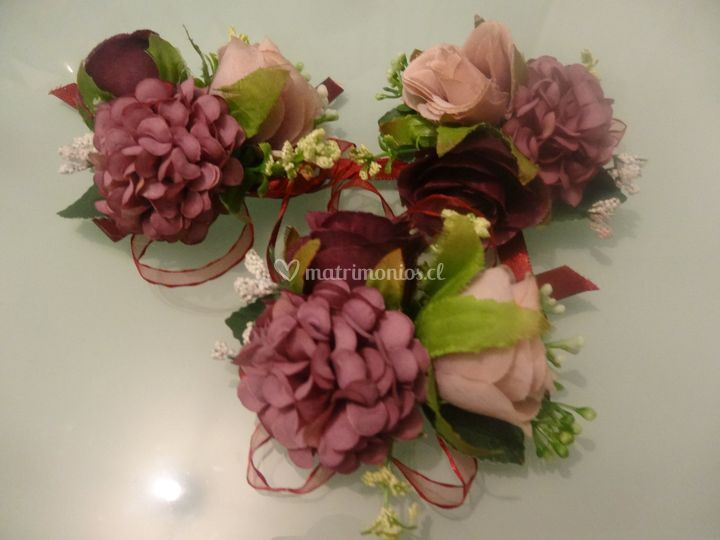 Corsages para damas de honor