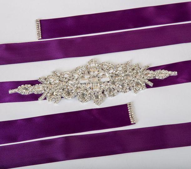 Cinturón novia