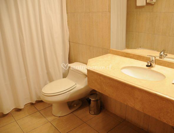 Detalle del baño