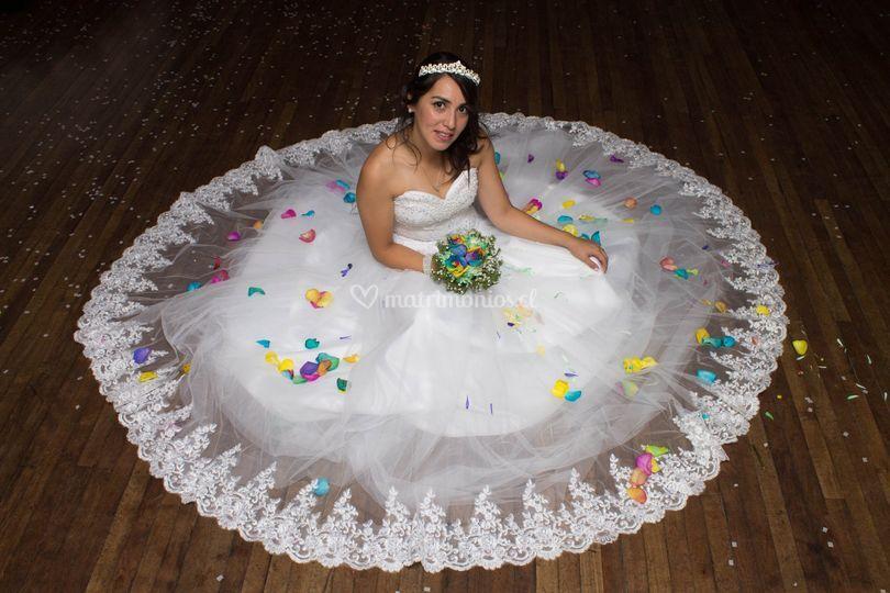 Joselyn y su hermoso vestido