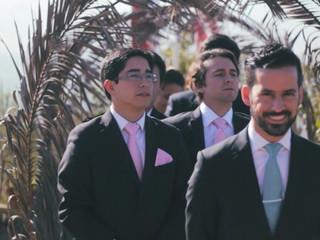 Video matrimonio con voz en off