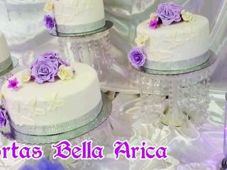 Torta de novio violeta