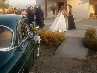 Auto matrimonio San Fernando