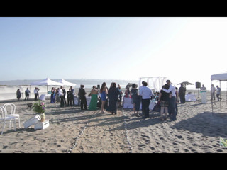 Ceremonia en la Playa de Mantagua Village