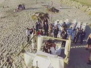 Novios Playa Blanca