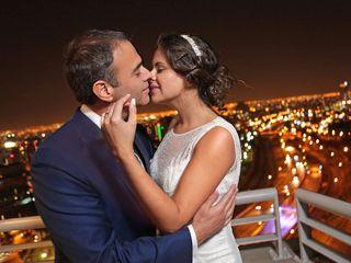 El matrimonio de Yasmin y Nelson
