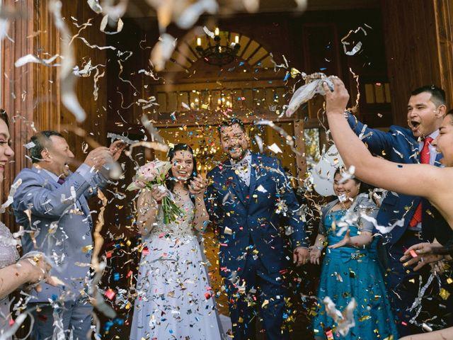 El matrimonio de Fran y Leo en El Monte, Talagante 13