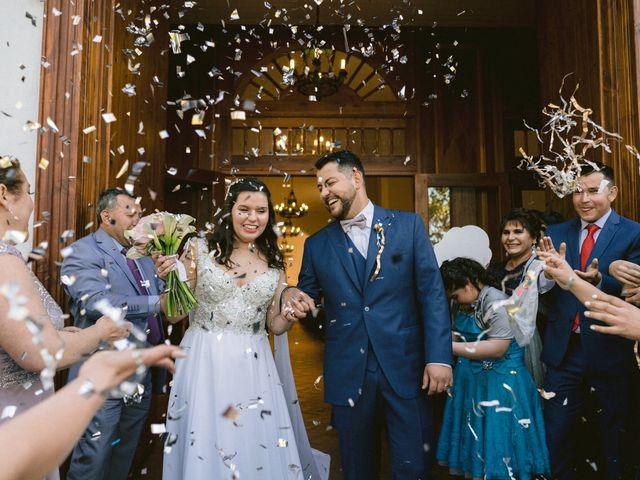 El matrimonio de Fran y Leo en El Monte, Talagante 14