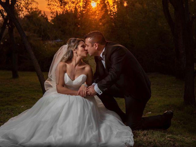 El matrimonio de Claudia y Rodrigo