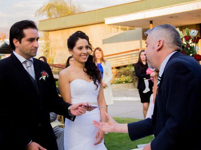 El matrimonio de Pablo y Laura en Las Condes, Santiago 18