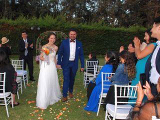 El matrimonio de Violeta y Marco