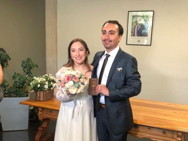 El matrimonio de Ignacia y Sebastian