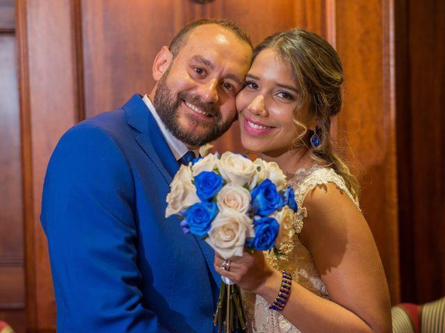 El matrimonio de Neidell y Gerardo