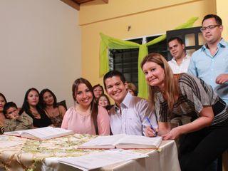 El matrimonio de Lorena y Carlos 3