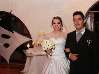 El matrimonio de Esmili y Alberto