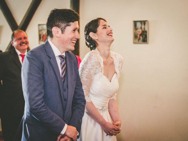 El matrimonio de Gabriela y Francisco