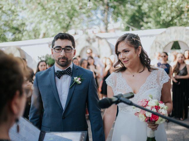 El matrimonio de Daniela y Javier