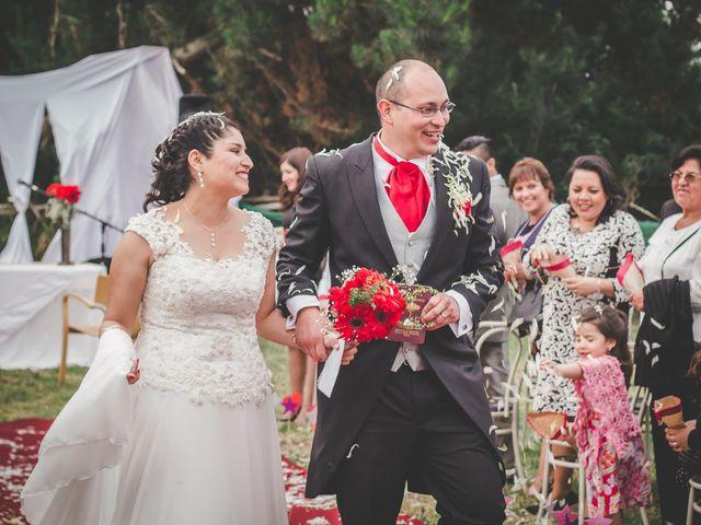 El matrimonio de Irma y Ricardo