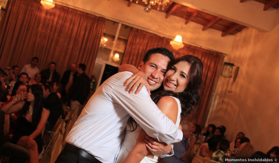 El matrimonio de Jairo y Doraly en Santiago, Santiago
