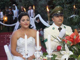 El matrimonio de Cristian y María Paz