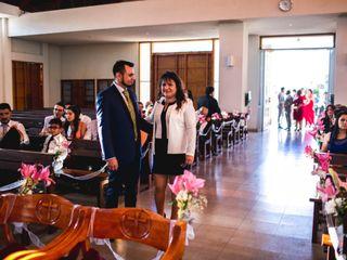 El matrimonio de Rodrigo Alejandro  y María José 1