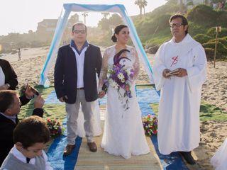 El matrimonio de Romina y Carlos 1