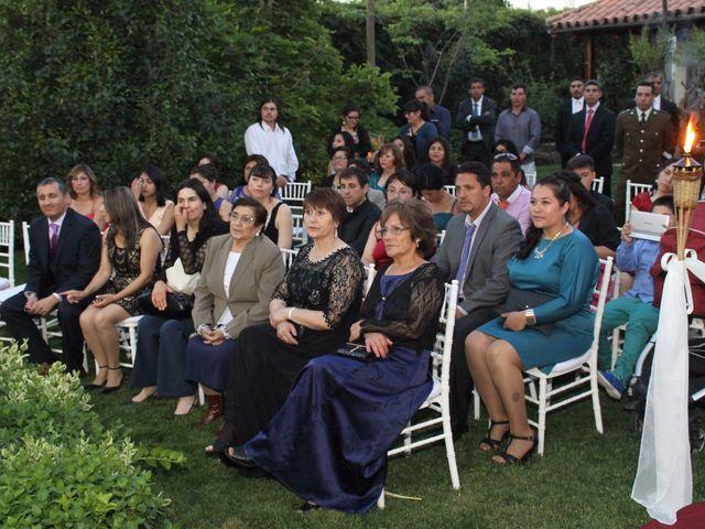 El matrimonio de María Paz y Cristian en Graneros, Cachapoal 38